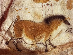Przewalski's horse cave art